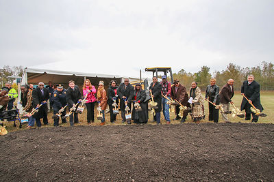 Richard A. Tucker Memorial Library Groundbreaking