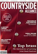 Countryside Alliance Magazine Cover Image, Winter 2016