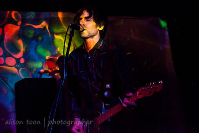 Jason Simon, vocals and guitar, Dead Meadow