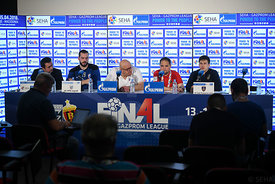 Press conference after the match PPD Zagreb - Celje PL