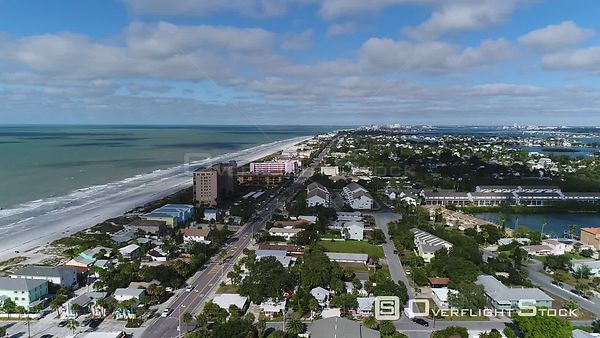 Drone Video Indian Rocks Beach Florida