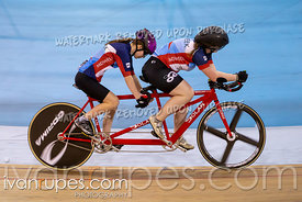 Para Tandem Women Kilo Time Trial. Canadian Track Championships (Jr, U17, Para), April 14, 2019