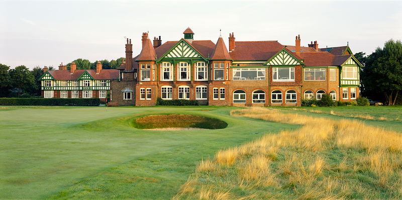 Royal Lytham and St. Annes golf course