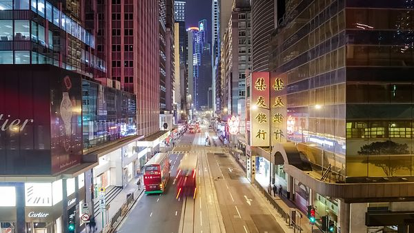 Close Up: Buses & Boulevards, Caverns Of Hong Kong