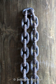 Chain on Post