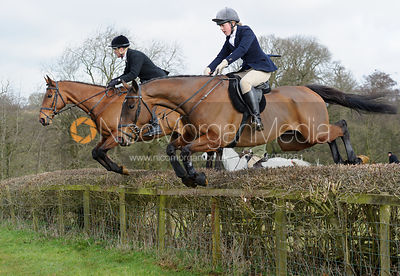 The Belvoir Hunt at Goadby Marwood 5/3