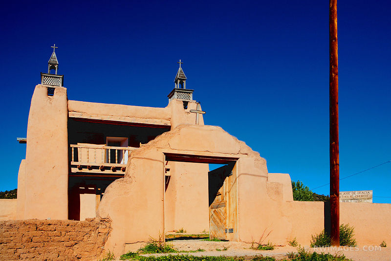 SAN JOSE DE GRACIA DE LAS TRAMPAS MISSION CHURCH NEW MEXICO