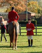 Michael Dungworth, David Manning at the meet. The Belvoir Hunt at the Kennels 13/11