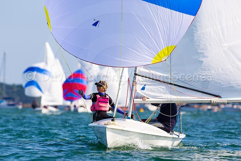 Pete and Jo Allam win the Flying Fifteen class in Zhik Poole Week 2018