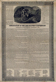 American Anti-Slavery Society declaration