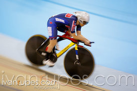 Women's Individual Pursuit C1-5  Qualification. Track Day 2, Toronto 2015 Parapan Am Games, Milton Pan Am/Parapan Am Velodrom...