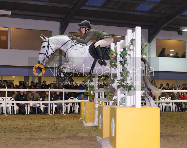 Annie Frankham - Quorn Hunt Gate Jumping 2014