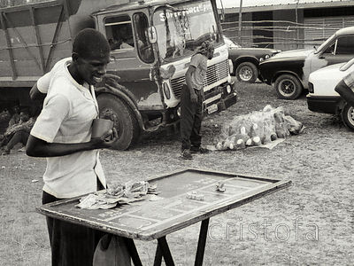 games at the Accompong Festival