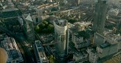 London Aerial Footage of Blackfriars Road