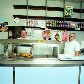 Colin & George, the village chippy