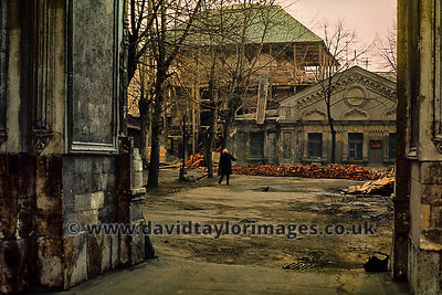 Church of Sophia under renovation | Moskva Embankment Moscow | April 1976