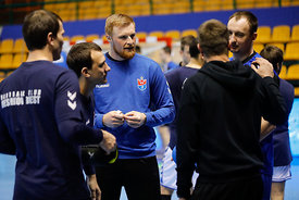 Team Meshkov during the Final Tournament - Final Four - SEHA - Gazprom league, Team training in Brest, Belarus, 06.04.2017, M...