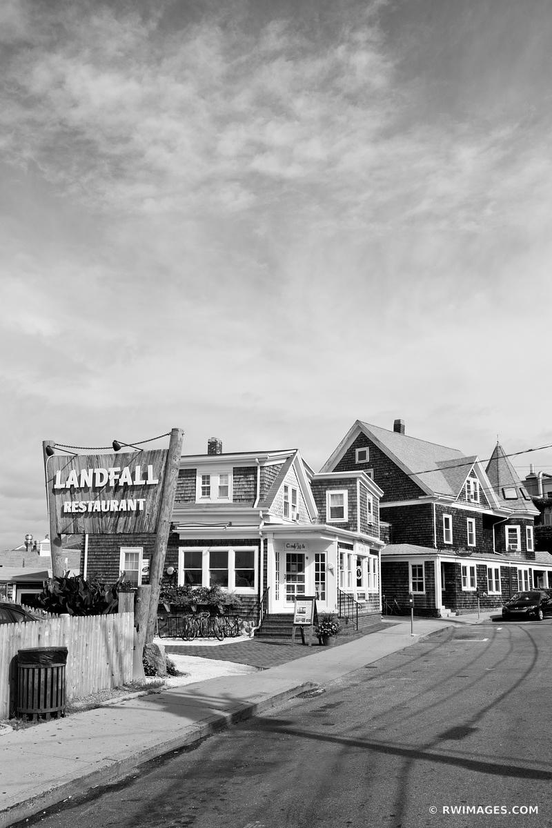 WOODS HOLE CAPE COD MASSACHUSSETTS BLACK AND WHITE
