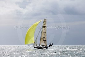 18ft Skiff European Grand Prix, Sandbanks, 20160904601