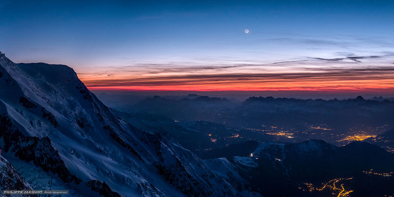 Conjunction at the summit - Chamonix Mont-Blanc