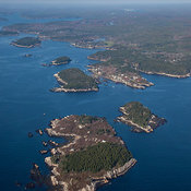Wood Island, Carrying Place Cove, Carrying Place Head And West Point, Phippsburg