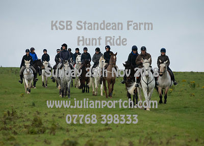 2018-11-25 KSB Standean Farm Hunt Ride