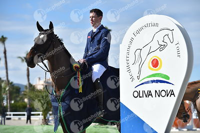 Oliva, Spain - 2018 January 27: Gold tour 1m45 GP during CSI Mediterranean Equestrian Tour 1..(photo: 1clicphoto.com I Herve ...