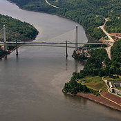 Fort Knox And The Penobscot Narrows Bridge, Bucksport