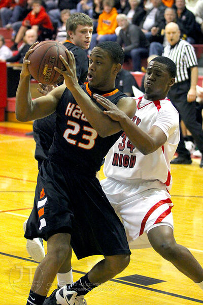 Iowa City High vs Cedar Rapids Prairie Boys Basketball 4A Substate 2/20/12