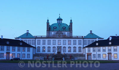 Blue Hour at Fredensborg Palace