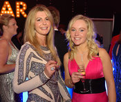 Lisa Freckingham and Sabrina McClumpha - The Cottesmore Hunt Scarlet Fever Ball 17/12