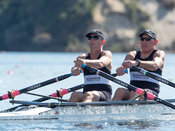 Taken during the World Masters Games - Rowing, Lake Karapiro, Cambridge, New Zealand; ©  Rob Bristow; Frame 3853 - Taken on: ...