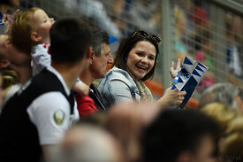 fans during the Final Tournament - Final Four - SEHA - Gazprom league, third place match, Varazdin, Croatia, 03.04.2016..Mand...