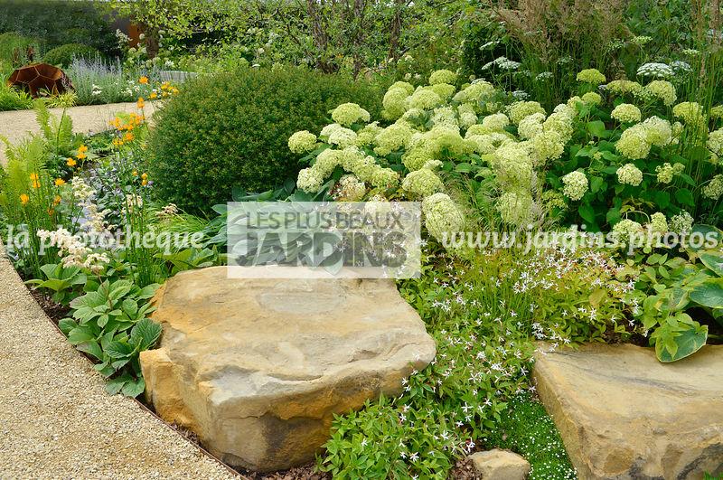 la photothèque | LES PLUS BEAUX JARDINS | Massif fleuri, rocaille ...