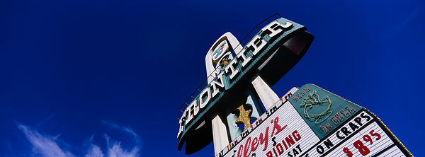 'Frontier' Las Vegas 2001: Photographer: Neil Emmerson. Demolished on the 13th November 2007. (Image shot using a panoramic H...