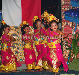 Indonesia National day dancers