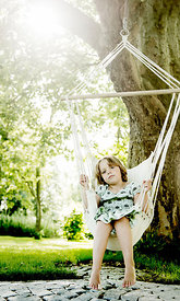 Girl on swing #3