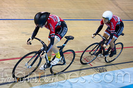 U17 Women Team Sprint Final. 2015 Canadian Track Championships, October 9, 2015