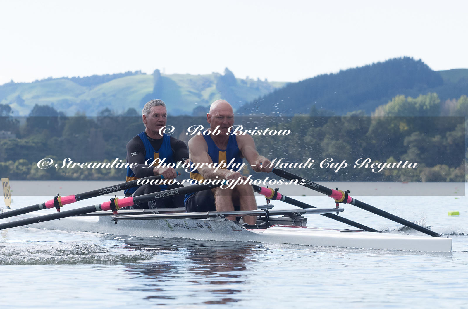 Taken during the World Masters Games - Rowing, Lake Karapiro, Cambridge, New Zealand; ©  Rob Bristow; Frame 499 - Taken on: T...
