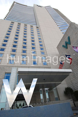 W Hotel in Downtown Dallas, Texas (Victory Park)