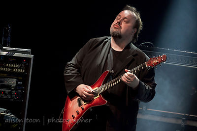 Steve Rothery, guitar, Marillion, Friday evening, Montreal, 2015