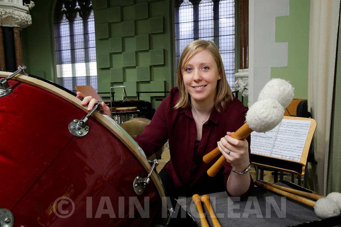 Jennifer Orr, Deputy Orchestra Manager, RSNO..Pictured at the RSNO HQ, 73 Claremont Street, Glasgow on 17.6.15..More info fro...