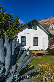 Bunkhouse at Scorpion Ranch on Santa Cruz Island