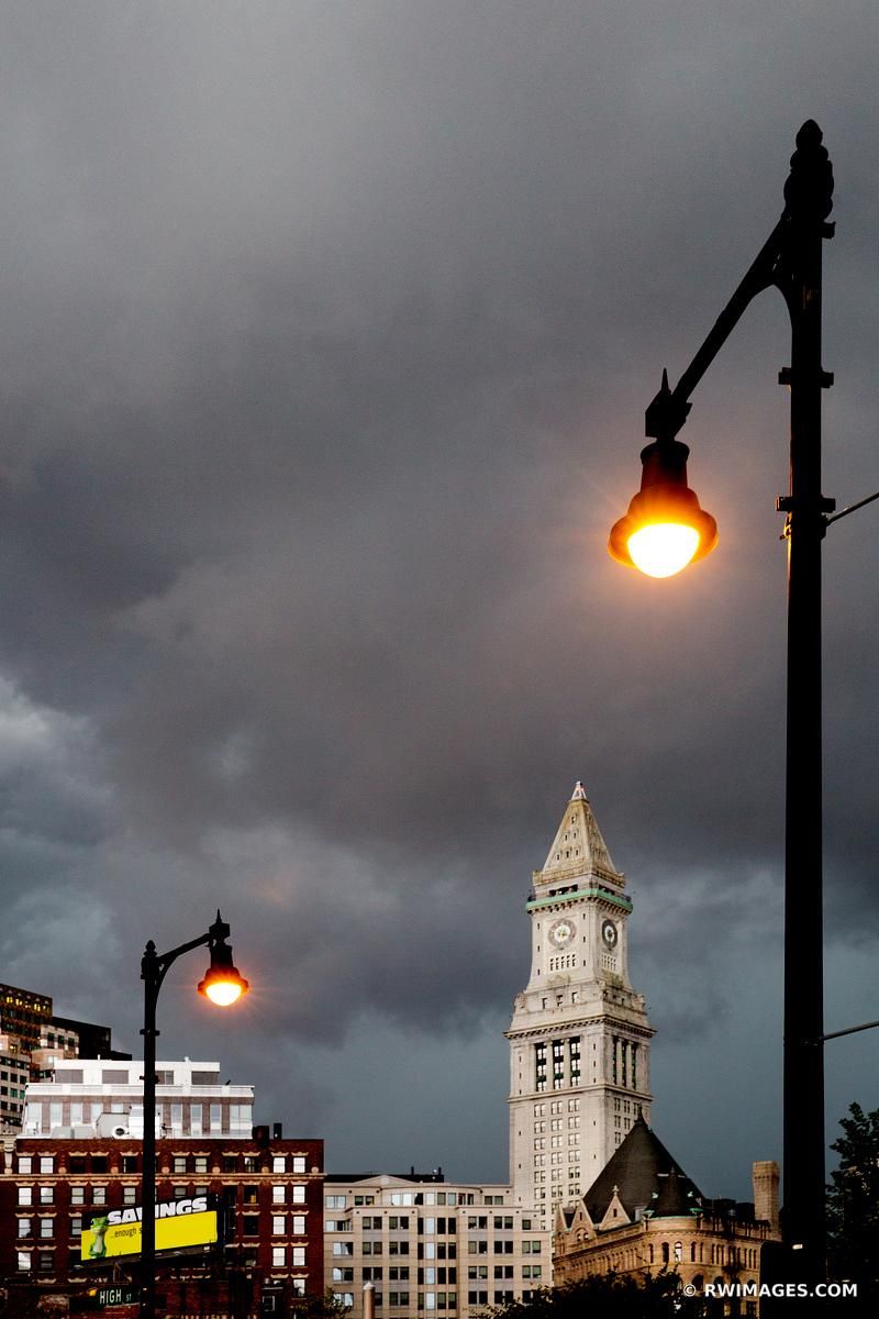 STORMY SKIES OVER BOSTON COLOR VERTICAL