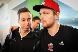 Aron PALMARSSON of Veszprém during the Final Tournament - Final Four - SEHA - Gazprom league, team arrival in Varazdin, Croat...