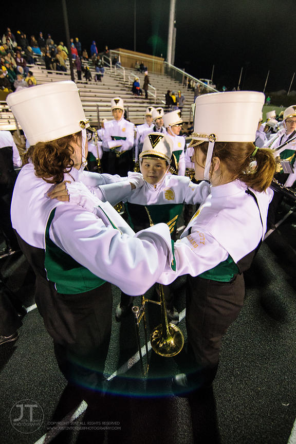 PC Iowa City West Marching Band Uniforms