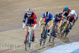 Cat 1-2 Men Keirin 1/2 Finals. Track Ontario Cup #2, January 13, 2019