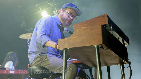 Joe Lester, keyboards, Silversun Pickups