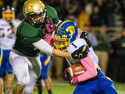 PC Iowa City West vs Davenport Central Football, October 17, 2014