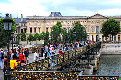 Le Pont des Arts Paris 08/14